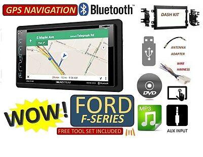 Ford F   Navigation Cd Dvd Usb Aux Bluetooth Radio