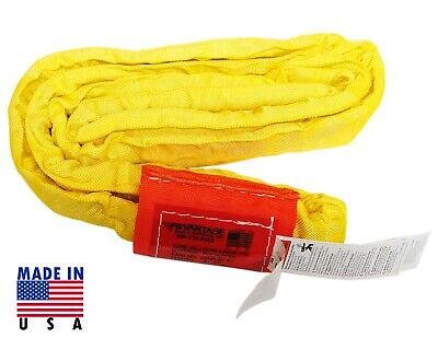 Lift-It Yellow Polyester Roundsling 8,400 Lbs Vertical x 6FT