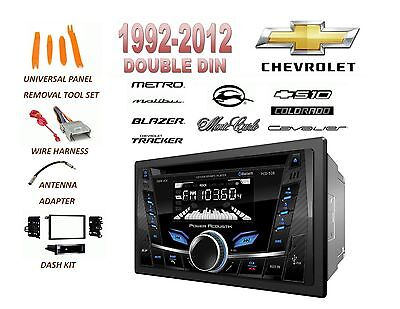 1992-2012 CHEVROLET IMPALA MALIBU S10 BLUETOOTH USB CD AUX MP3 CAR STEREO COMBO