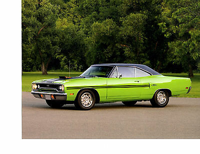 (1970 PLYMOUTH GTX   ~   NICE CALENDAR PHOTO / PICTURE / AD)