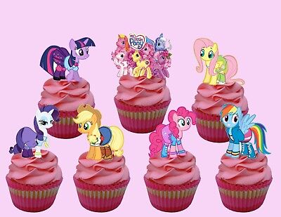 MY LITTLE PONY  Cupcake Topper (14pcs)](My Little Pony Cupcake Toppers)