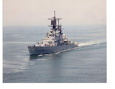 USS Harry Yarnell DLG-17 CG-17  Destroyer Navy Ship Original 8x10