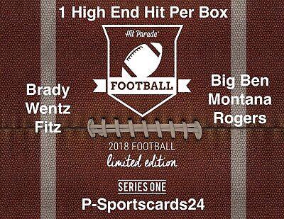 2018 Hit Parade Limited Football NFL Auto Hobby Box Live Box Break #724 -1 Team
