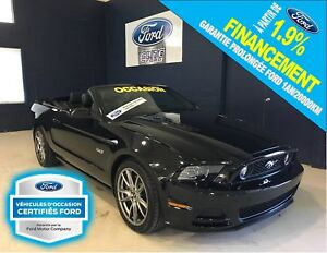 Ford Mustang gt, cuir, gps, 30837 km 2014