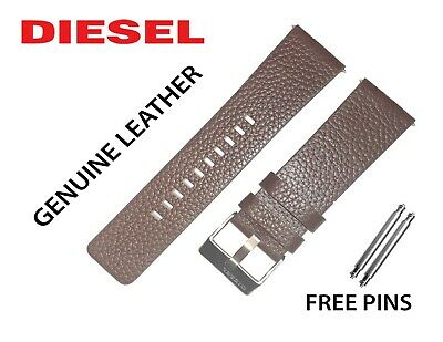 Used, Original DIESEL Watch Strap/ Band BROWN 24mm DZ1661 DZ4204 DZ4335 DZ1467 DZ1113  for sale  Shipping to India