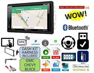 FITS CHEVY-GMC TRUCK-VAN-SUV Cd Dvd AUX GPS NAVIGATION Bluetooth Radio Stereo