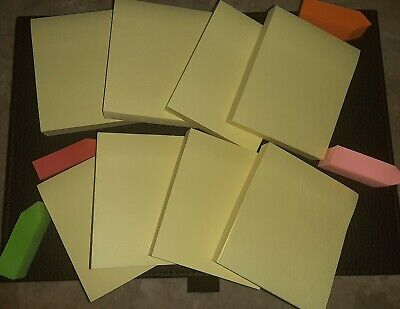 Canary Yellow Post Its 8 Pack 2.53 4 Post It Multi Colored Tabs 100 Pg Pad