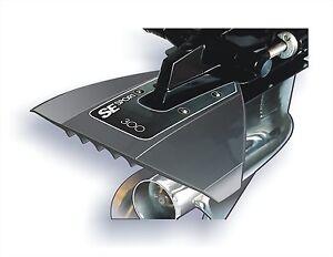 SE-SPORT-300-Hydrofoil-in-GRAU-fur-Aussenborder-und-Z-Antriebe-Stabilisator