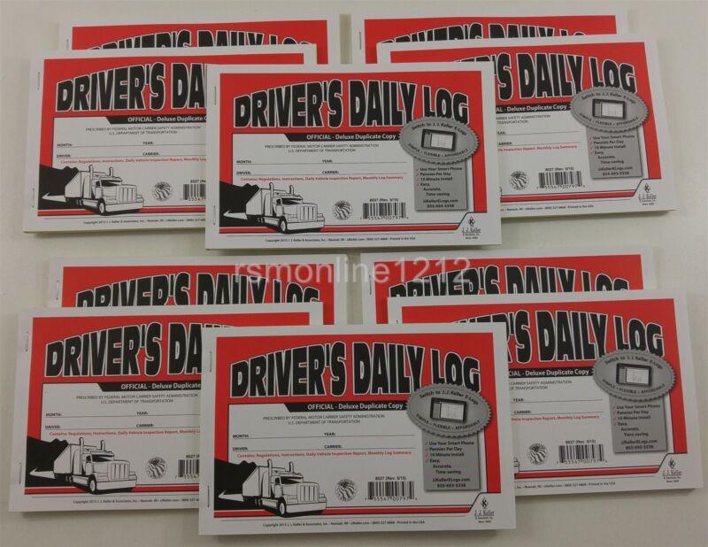 Lot of 10 JJ Keller 8527 (601L) Duplicate Driver