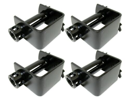 """4 Pack Weld On Winch for 4"""" Strap Flatbed Truck Trailer Tie Down Cargo Ratchet"""