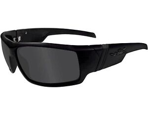 Wiley X Hydro Black Ops Smoke Grey Sunglasses SSHYD01
