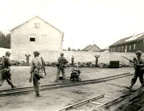 Dachau Concentration Camp Execution During Liberation-1945 Photo