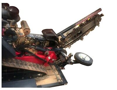 2006 Barreto E2036-tk Walk-behind Steerable Track Trencher 18hp Honda Gas Engine