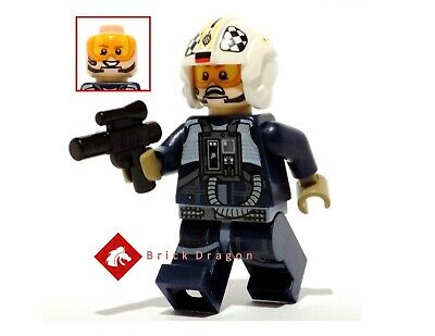 Lego Star Wars Rogue One U-Wing / Y-WIng Pilot from set 75155  & 75172