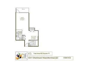 Spacious 2.5 avail April 1st - NDG - SHERBROOKE WEST - VENDOME