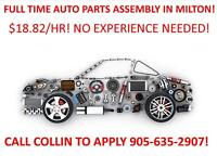 $18.82/HR ASSEMBLY AND QUALITY INSPECTION JOBS!