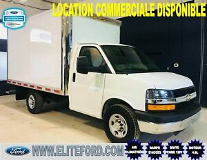 CHEVROLET EXPRESS 3500, 2016, BOITE CUBE 12 PIED
