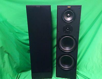 200 Watt Floor Standing Speaker - Jamo Cornet 90 IV floorstanding speakers bi-ampable 200 watt made in Denmark