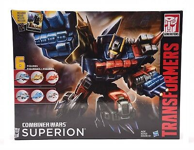 Transformers Generations Combiner Wars Superion Aerialbots Christmas Gift Kids