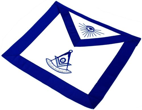 FREEMASON PAST Master Mason Masonic Square & Compass APRON DMA-35PM