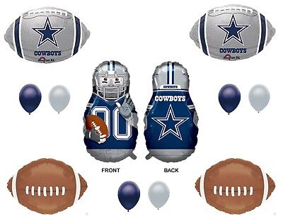 Dallas Cowboys XL Player Birthday Party Balloons Decoration Supplies Football](Dallas Cowboys Birthday Decorations)