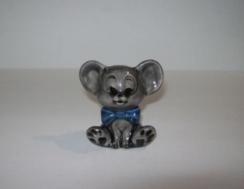vintage Mouse Porcelain Figurine, mid century