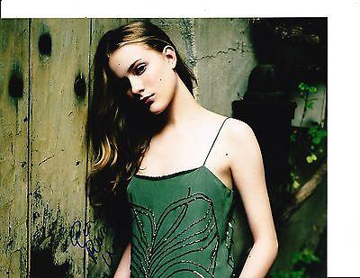 Evan Rachel Wood Signed Very Young 8X10