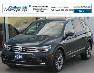 2019 Volkswagen Tiguan Navigation Heated Leather Panoramic Sunro