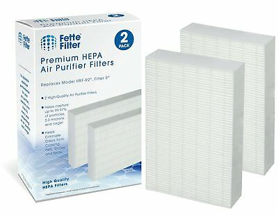 Fette Filter Air Purifier Filters. Compatible with HRF-R2, H