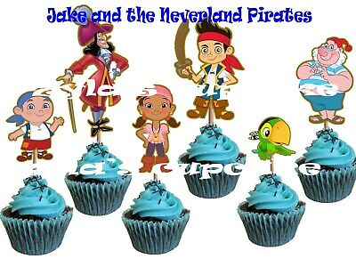 Jake and the Neverland Pirates Cupcake Topper