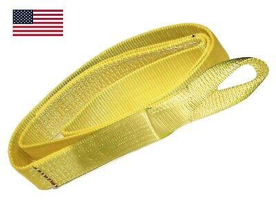 4 X 12 Ft Nylon Web Lifting Sling Strap 2 Ply Ee2-904 Eye Eye Usa Domestic