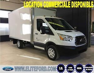 FORD TRANSIT T-250 2017, DIESEL, BOITE CUBE 12 PIEDS