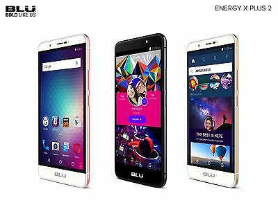 BLU Energy X Plus 2  Unlocked GSM Android  Quad-Core GSM Cell phone 8MP Camera