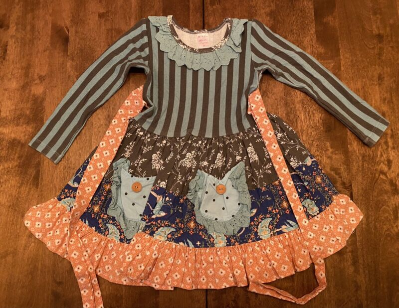 Giggle Moon Toddler Girls Adorable Dress Size 3