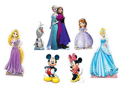 CHARACTER LIFESIZE BIRTHDAY PARTY CARDBOARD CUTOUTS - DISNEY, FROZEN, MARVEL ETC](Character Cardboard Cutouts)