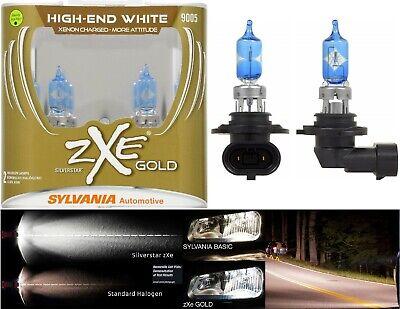 Sylvania Silverstar ZXE Gold 9005 HB3 65W Two Bulbs Head Light Low Beam Upgrade