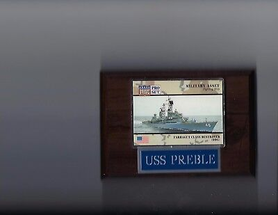 USS PREBLE PLAQUE DDG-46 NAVY US USA MILITARY GUIDED MISSILE DESTROYER NEW