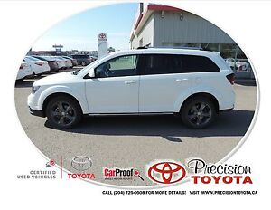 2015 Dodge Journey Crossroad Local One Owner, Leather, Navi,...