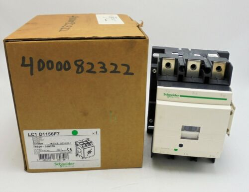 SCHNEIDER ELECTRIC, LC1 D1156F7, CONTACTOR