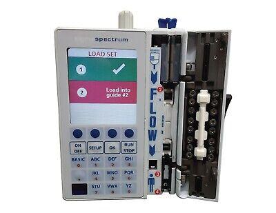 Baxter Sigma Spectrum Infusion Pump 6.05.13 Bg Battery Ac Adapter