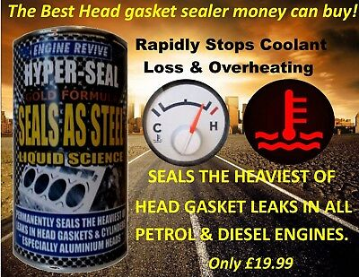 HYPER SEAL GOLD FORMULA   PREMIUM   head gasket repair for all Audi cars