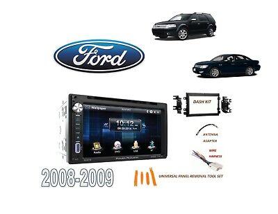 2008-2009 FORD TAURUS, TAURUS X DDIN STEREO KIT, USB TOUCHSCREEN BLUETOOTH DVD Ford Taurus Stereo