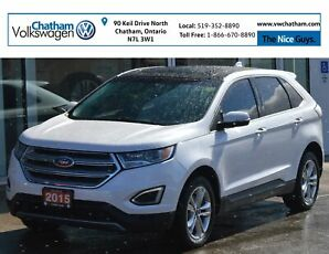 2015 Ford Edge Navigation Heated Leather Sunroof