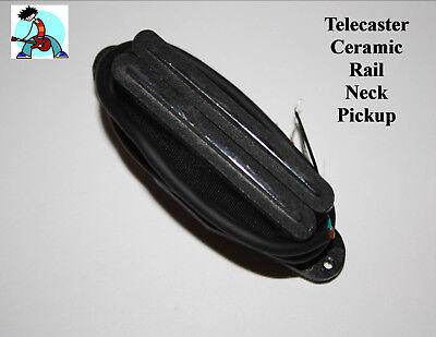 Tele Telecaster Ceramic Neck Rails Pickup 4-wire