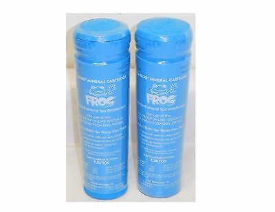 2 Pack King Technology Spa Frog Mineral Cartridge