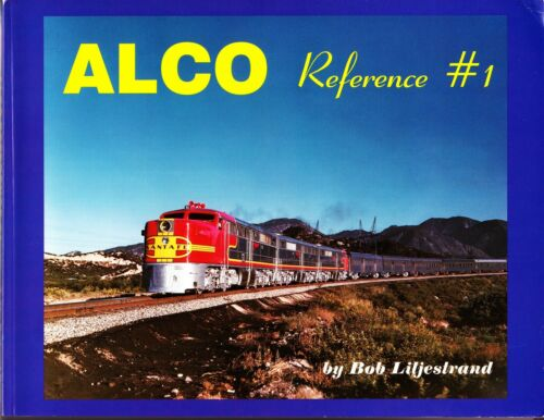 Alco Reference #1 Railroad Book
