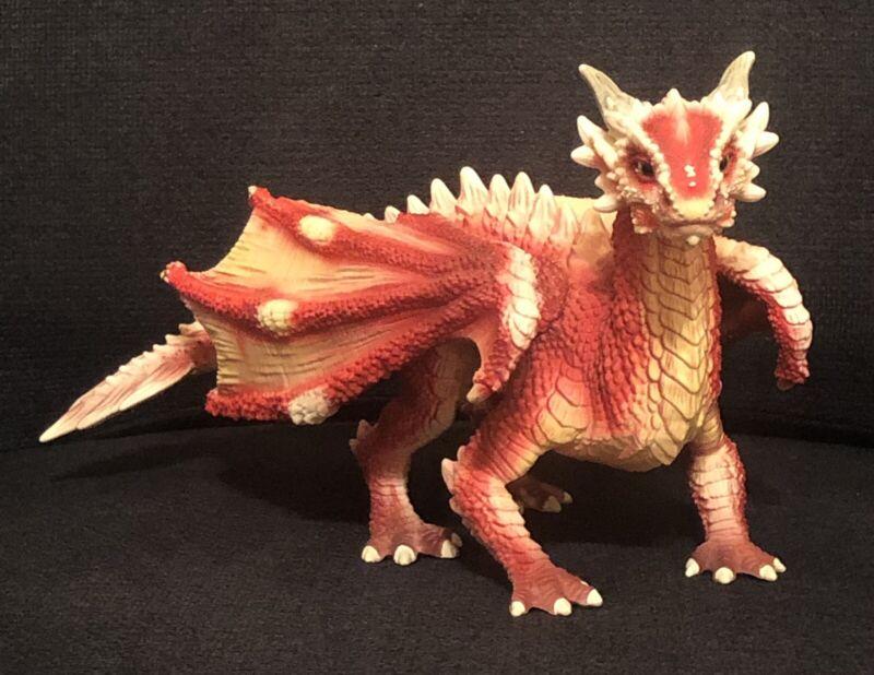 Schleich Bayala 70465 Young Red Dragon Rare Retired No Rider