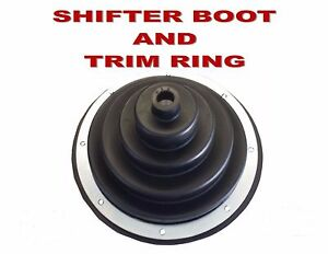 SHIFTER BOOT with TRIM RING - ALL MAKES SEMI TRUCKS 68D885 - FREE SHIPPING!