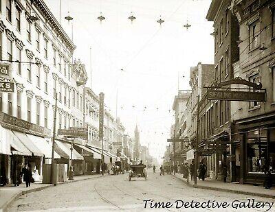 King Street South, Charleston, South Carolina - circa 1900- Historic Photo (Charleston King Street)