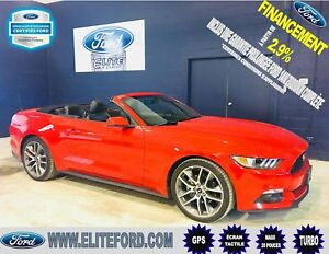 FORD MUSTANG 2017, CONCERTIBLE, PREMIUM, ÉCOBOOST